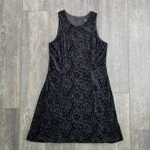 New York & Company Black Textured Dress - size 12